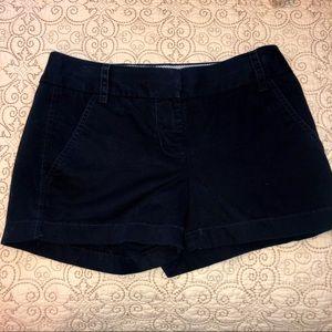 JCREW Navy Chino Shorts.